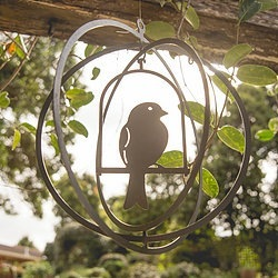 Caged Bird Circle Metal Work Broadcroft Design