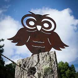 Owl Art Wood Metal Work Broadcroft Design