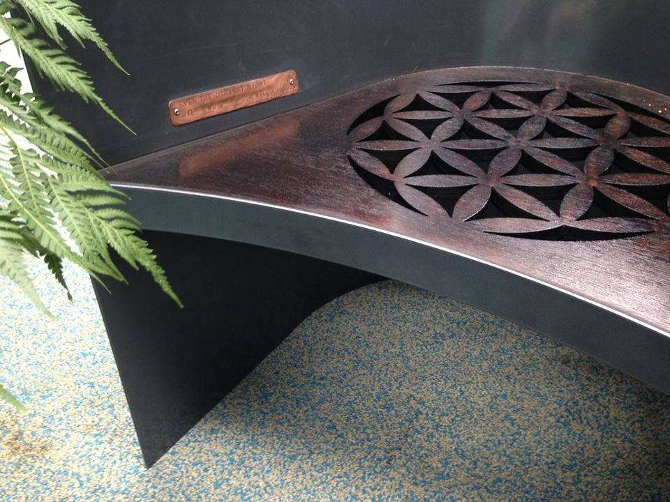 Flower Of Life Metal Work Broadcroft Design