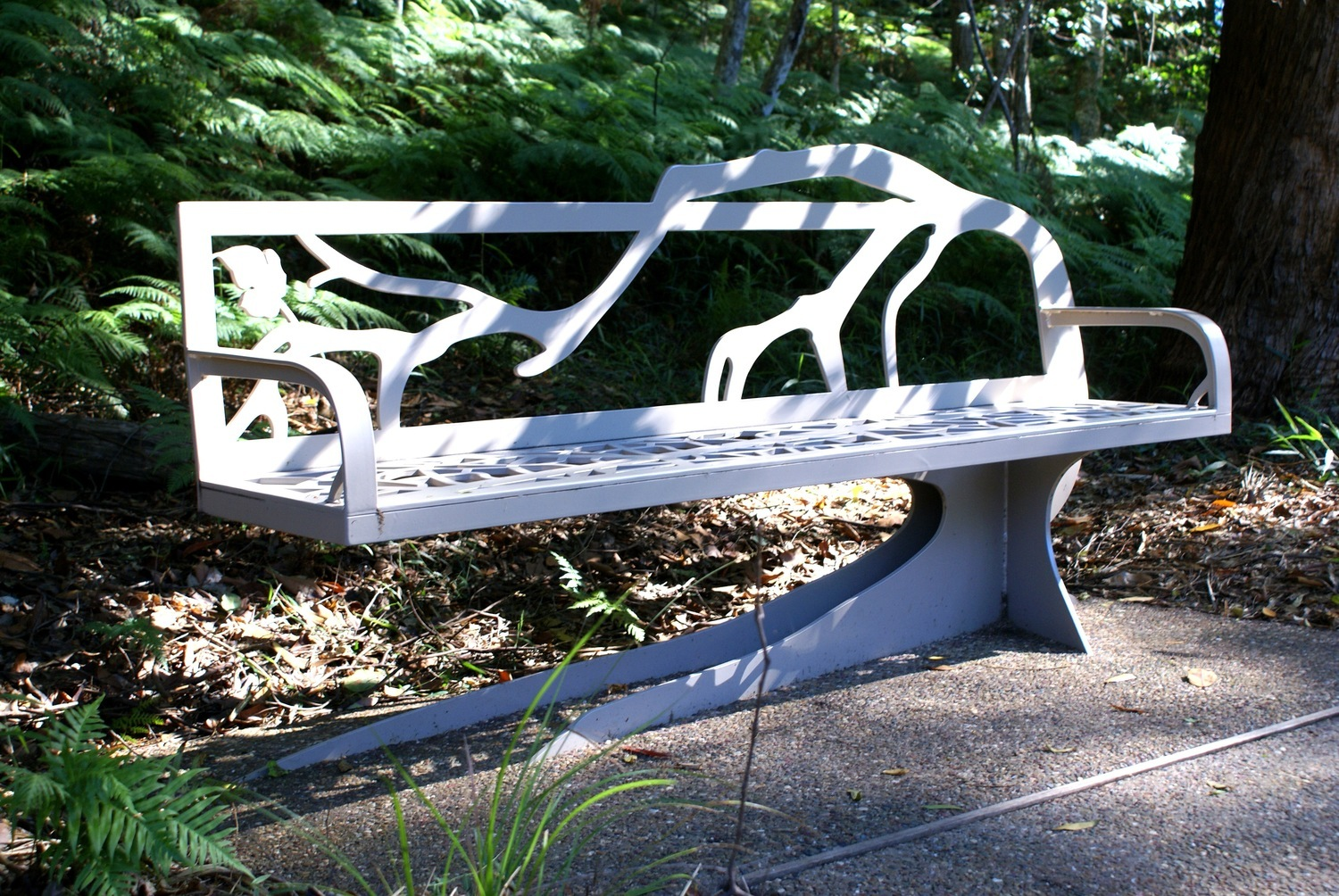 Bench Seat Tree Art Sit Metal Work Broadcroft Design