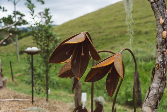 Flower Sad Metal Work Broadcroft Design Giant lily
