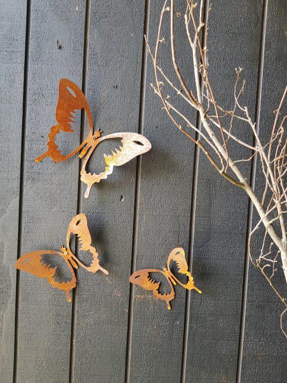 Butterfly Metal Work Art Broadcroft Design Butterflies