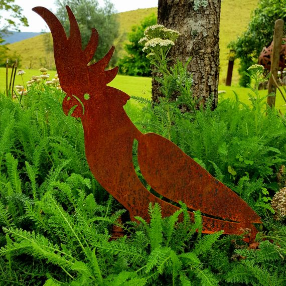 Metal work cockatoo Broadcroft Design Art