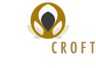 White Broadcroft Design Logo