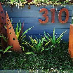 House Numbers 310 Metal Work Broadcroft Design
